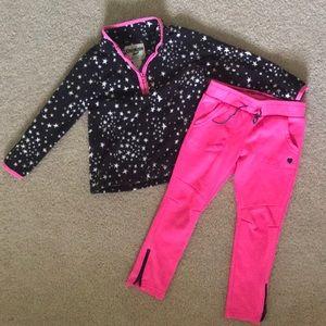 OshKosh Girls Fleece and Pants